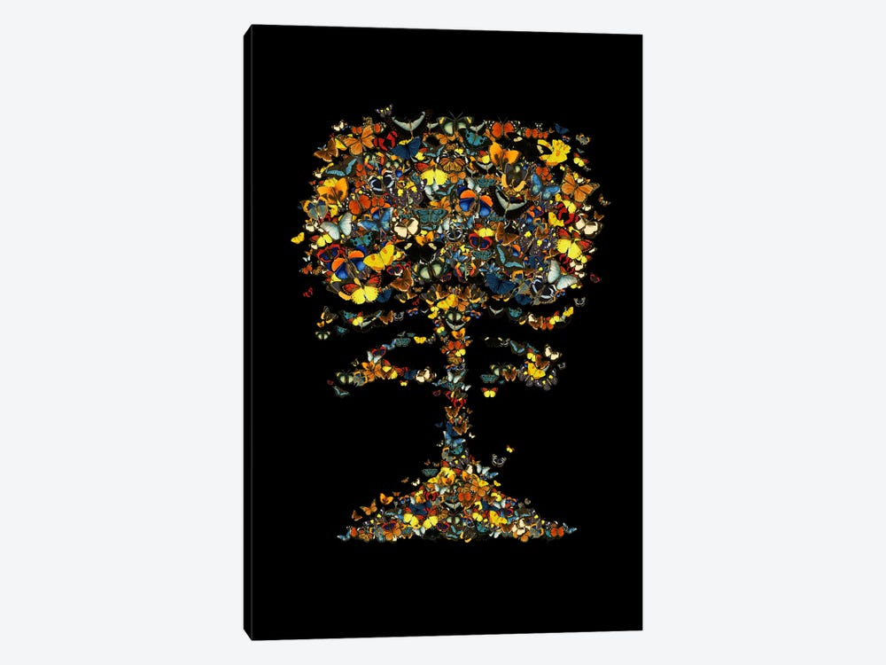 Atomic Butterfly by Tobias Fonseca 1-piece Canvas Art Print
