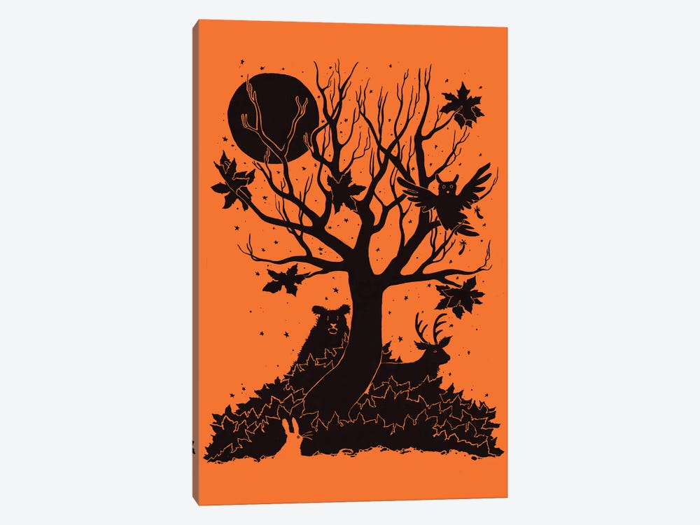 Autumn Forest by Tobias Fonseca 1-piece Canvas Art Print
