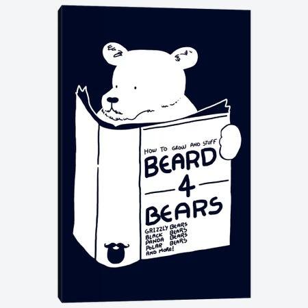 Beard For Bears Canvas Print #TFA118} by Tobias Fonseca Canvas Art Print