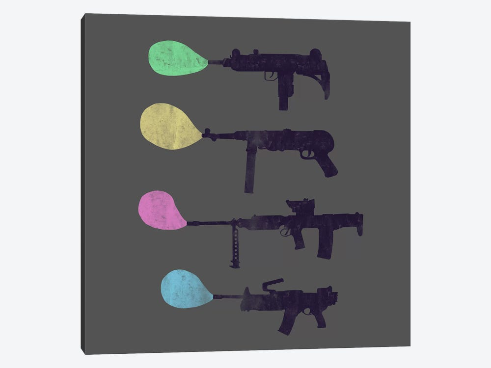Bubble Gun by Tobias Fonseca 1-piece Canvas Art