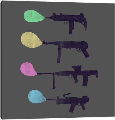 Bubble Gun Canvas Art Print
