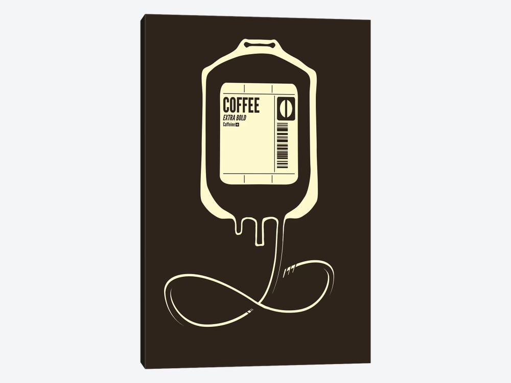 Coffee Transfusion by Tobias Fonseca 1-piece Canvas Print