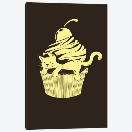 Cupcat Cutecake Canvas Print #TFA133} by Tobias Fonseca Canvas Print