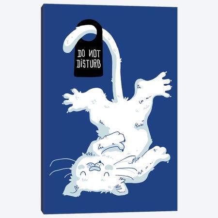 Do Not Disturb Canvas Print #TFA138} by Tobias Fonseca Canvas Print