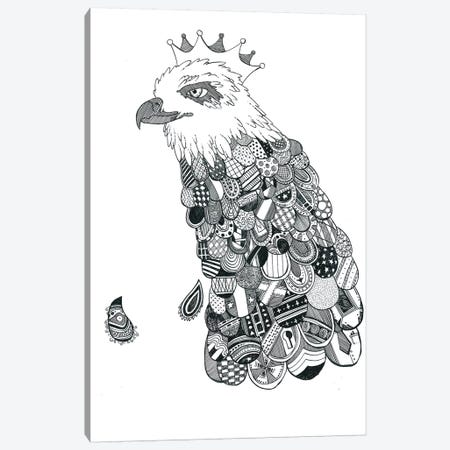 Eagle King Canvas Print #TFA139} by Tobias Fonseca Canvas Print