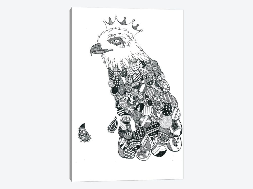 Eagle King by Tobias Fonseca 1-piece Canvas Art