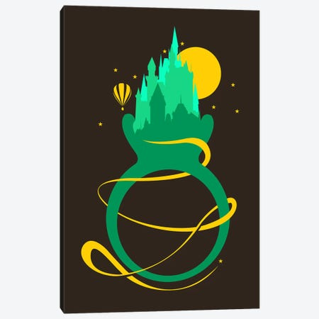 Emerald Ring Canvas Print #TFA140} by Tobias Fonseca Canvas Wall Art