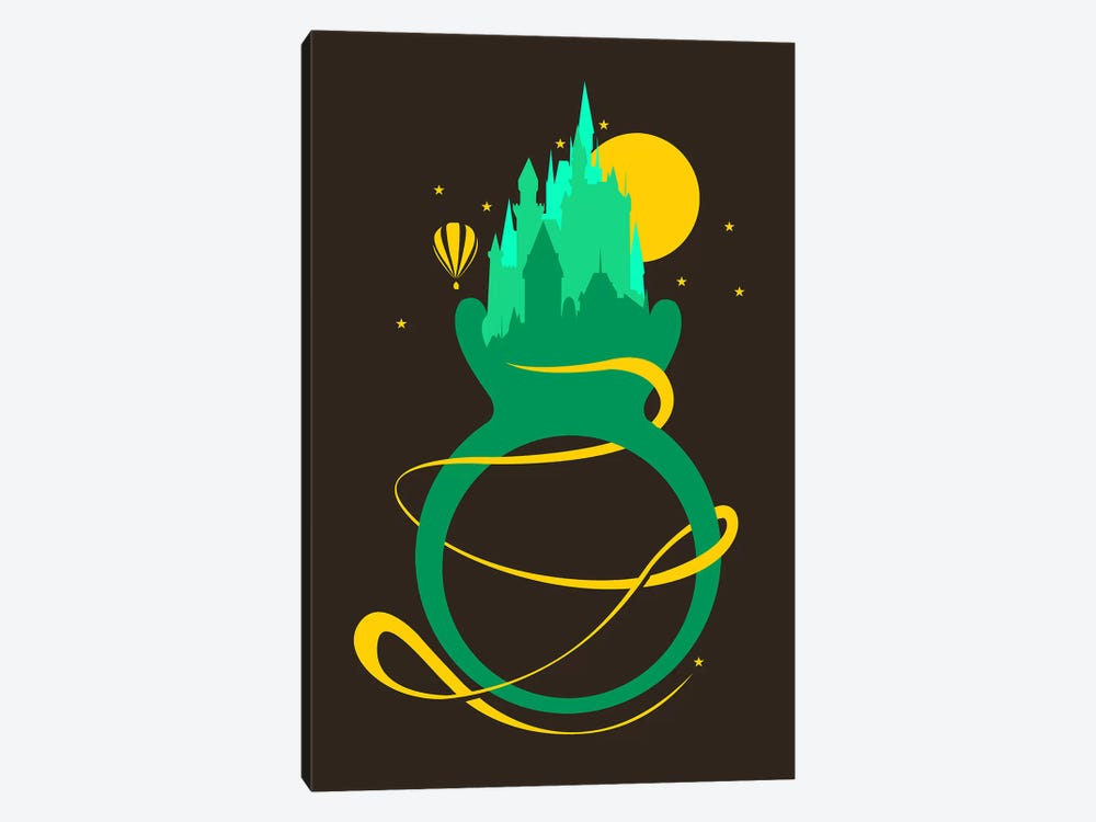 Emerald Ring by Tobias Fonseca 1-piece Canvas Artwork