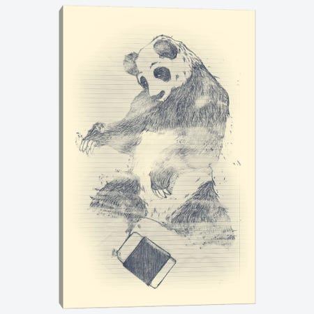Endangered Canvas Print #TFA142} by Tobias Fonseca Canvas Artwork