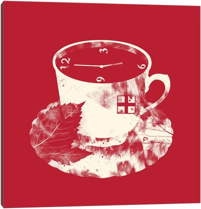 English Tea Canvas Art Print