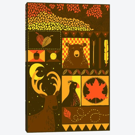 Fall Rectangle Canvas Print #TFA148} by Tobias Fonseca Canvas Artwork