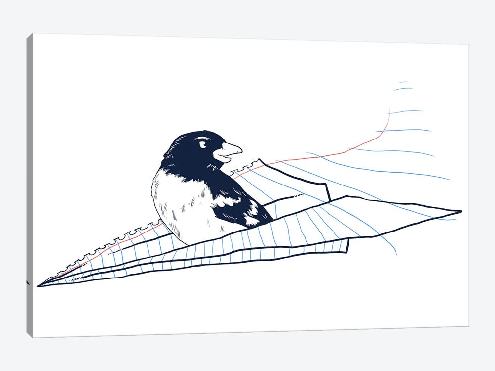 Flying Away by Tobias Fonseca 1-piece Art Print