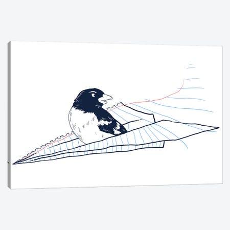 Flying Away Canvas Print #TFA152} by Tobias Fonseca Art Print