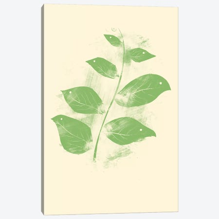 Flying Leaves Canvas Print #TFA153} by Tobias Fonseca Canvas Print