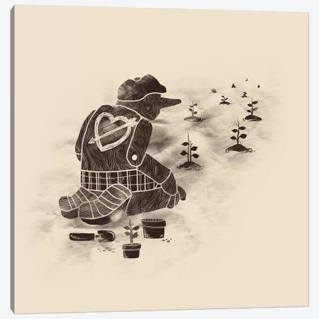 Givin Back Canvas Print #TFA159} by Tobias Fonseca Art Print