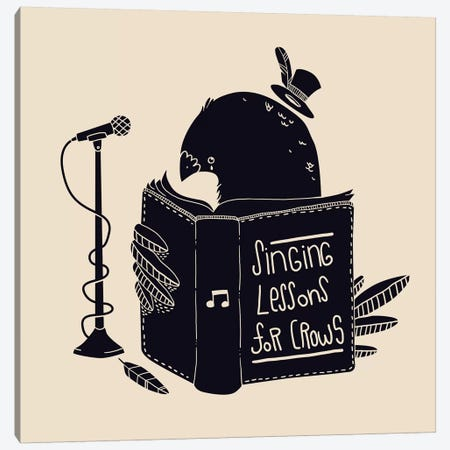 Singing Lessons Canvas Print #TFA15} by Tobias Fonseca Canvas Artwork