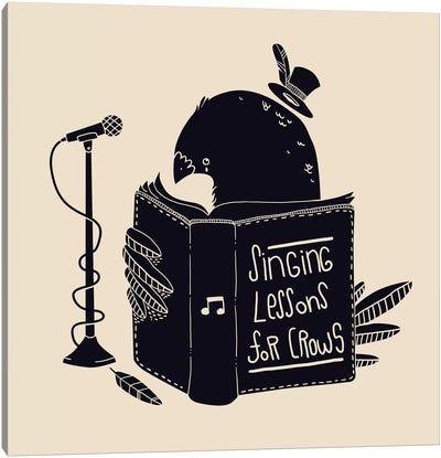 Singing Lessons Canvas Print #TFA15