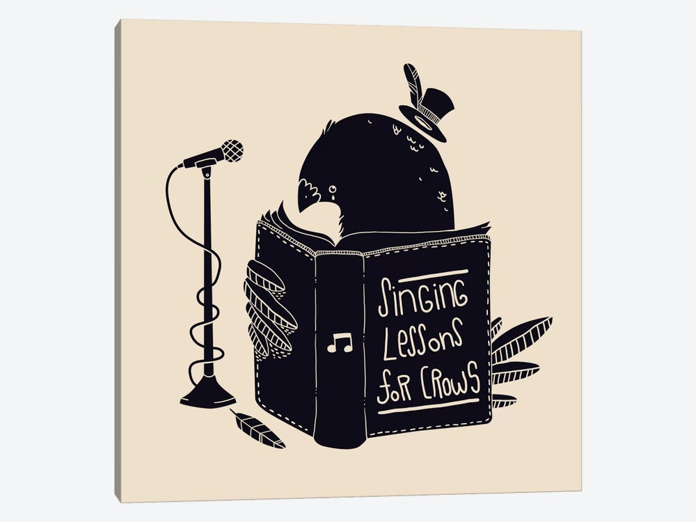 Singing Lessons by Tobias Fonseca 1-piece Art Print