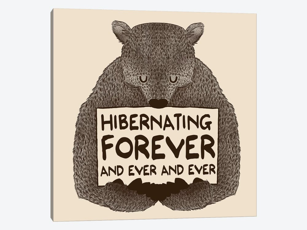 Hibernating Forever by Tobias Fonseca 1-piece Canvas Artwork