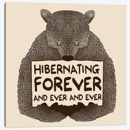 Hibernating Forever Canvas Print #TFA164} by Tobias Fonseca Art Print