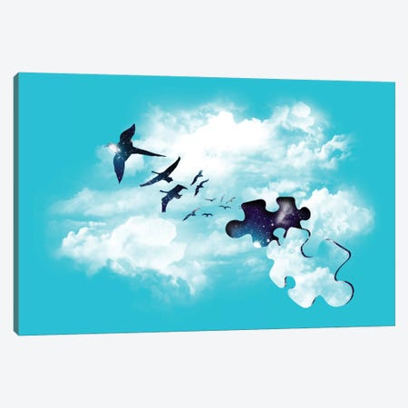 Sky Is Fallin' Canvas Print #TFA16} by Tobias Fonseca Canvas Wall Art