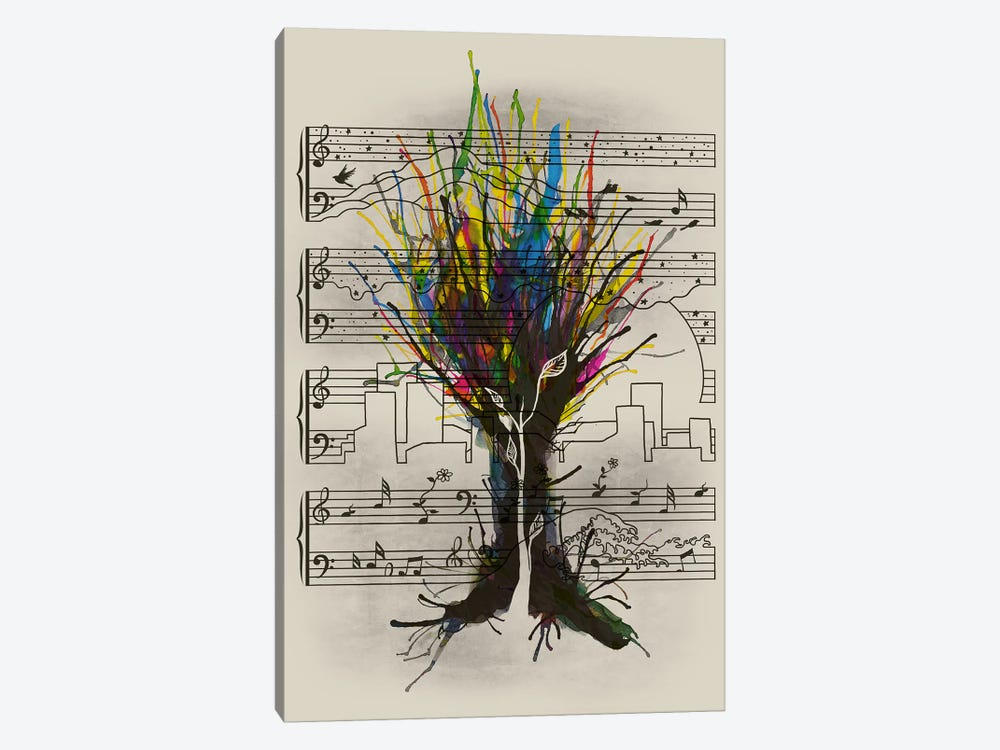 Ink Chord by Tobias Fonseca 1-piece Art Print