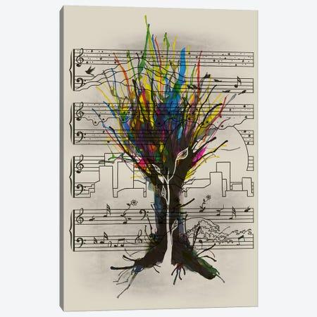 Ink Chord Canvas Print #TFA178} by Tobias Fonseca Canvas Art Print