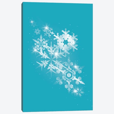 Snow Flakes Of Hope Canvas Print #TFA17} by Tobias Fonseca Canvas Art
