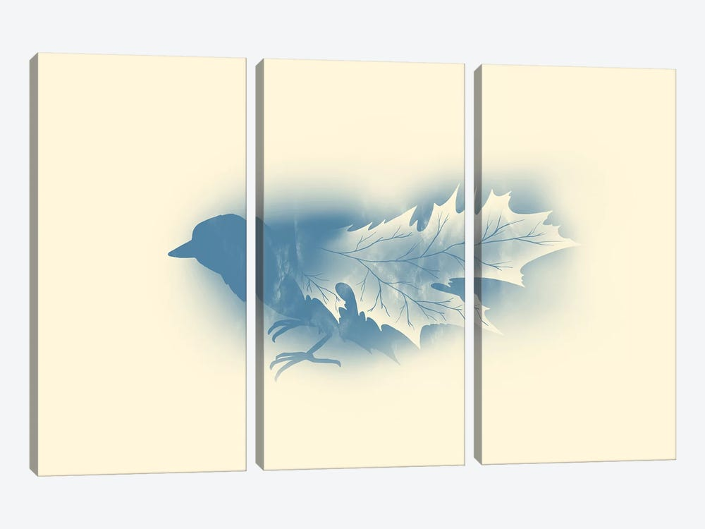 Leaves by Tobias Fonseca 3-piece Canvas Print