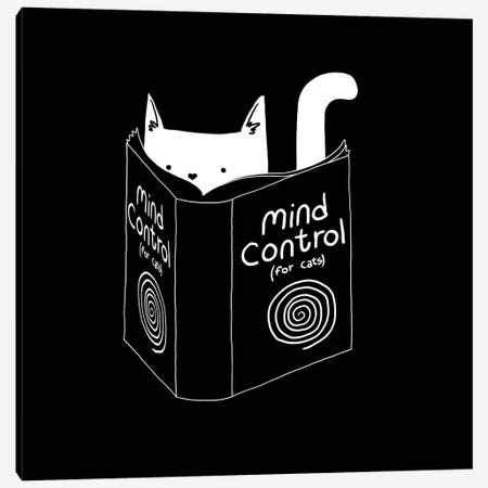 Mind Control For Cats Canvas Print #TFA195} by Tobias Fonseca Canvas Art