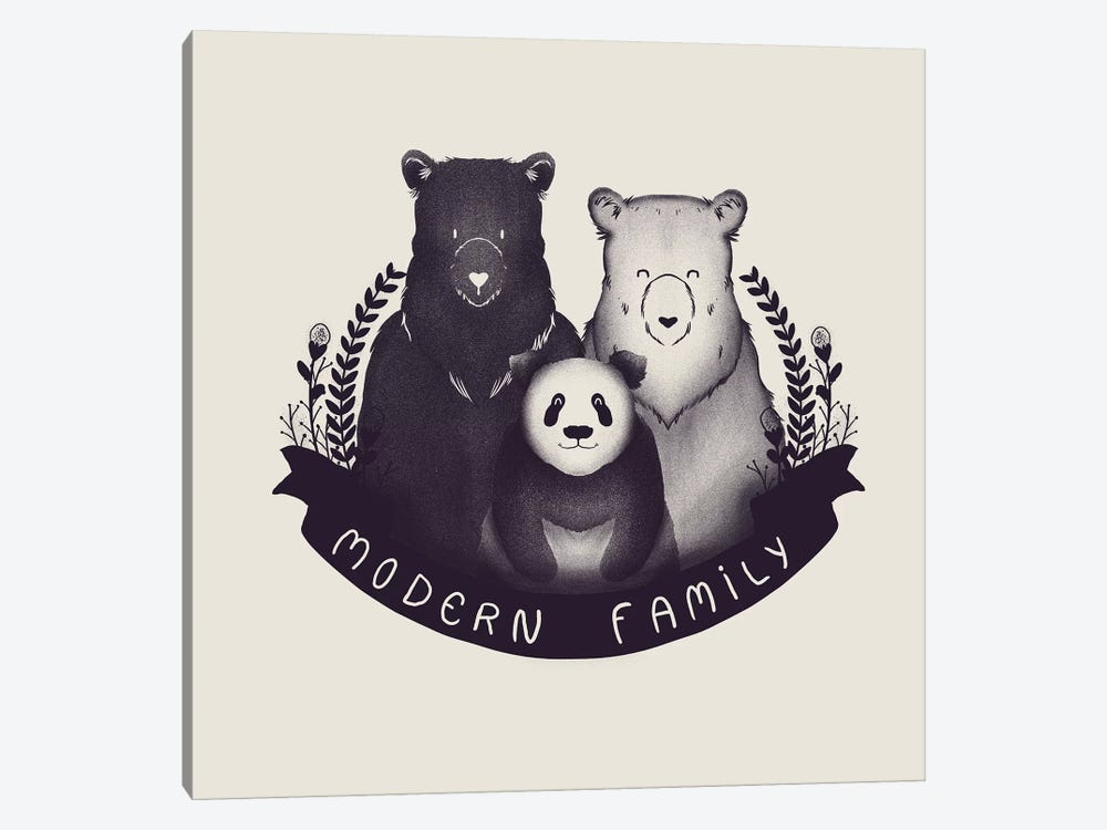 Modern Family by Tobias Fonseca 1-piece Canvas Art