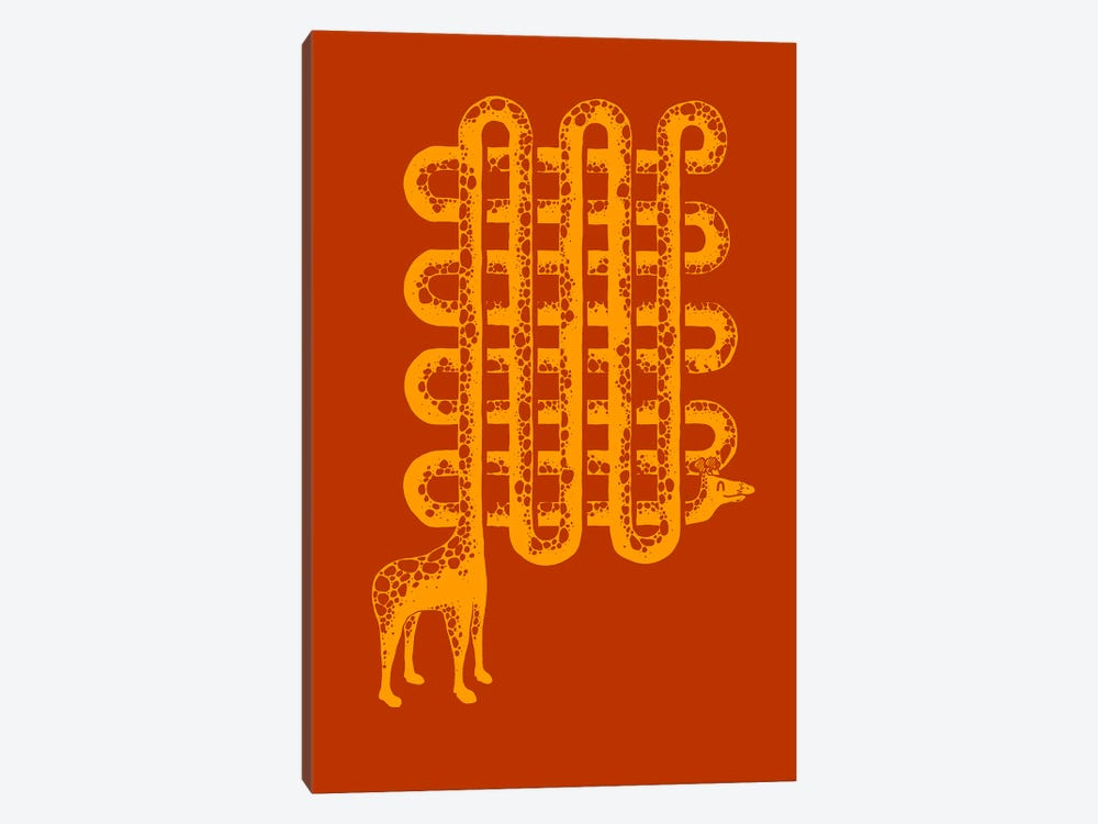 Neck Pattern by Tobias Fonseca 1-piece Canvas Artwork