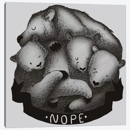 Nope Canvas Print #TFA203} by Tobias Fonseca Canvas Print