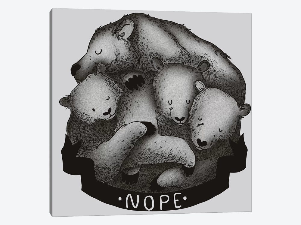 Nope by Tobias Fonseca 1-piece Art Print