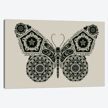 Ornamental Butterfly Canvas Print #TFA205} by Tobias Fonseca Canvas Artwork