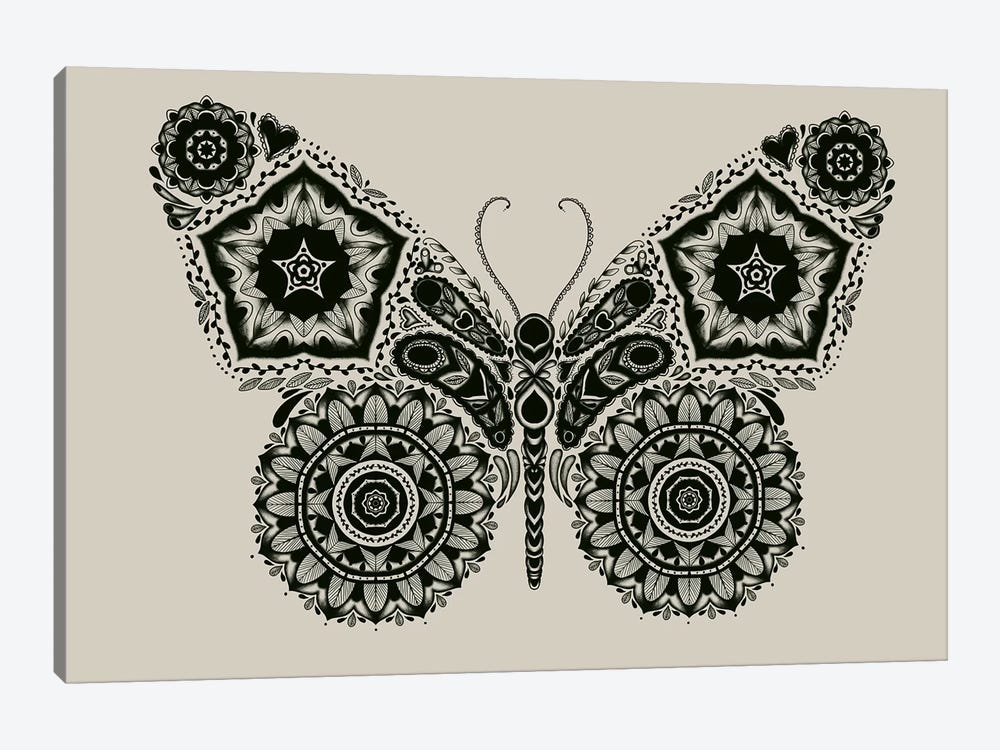 Ornamental Butterfly by Tobias Fonseca 1-piece Art Print