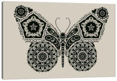 Ornamental Butterfly Canvas Art Print