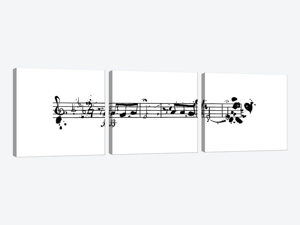 Pandooven's 5th Symphony by Tobias Fonseca 3-piece Canvas Artwork