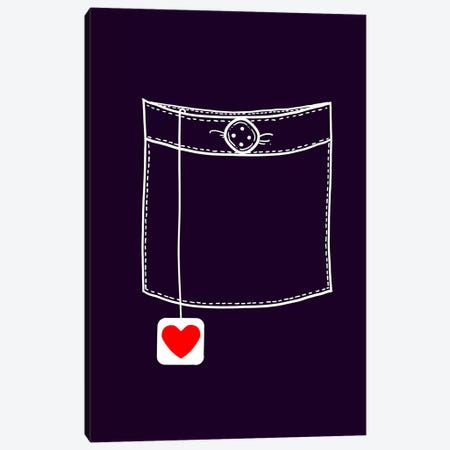 Pocket Full Of Love Canvas Print #TFA217} by Tobias Fonseca Canvas Print