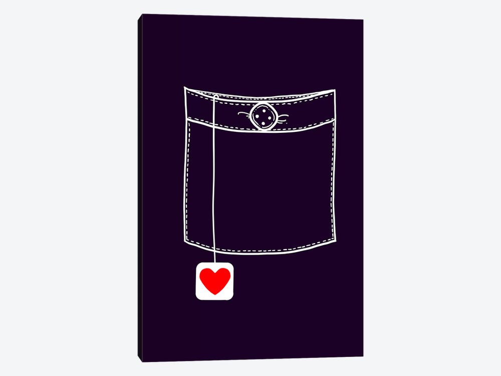 Pocket Full Of Love 1-piece Canvas Artwork