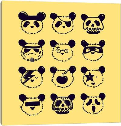 Pop Panda Canvas Art Print