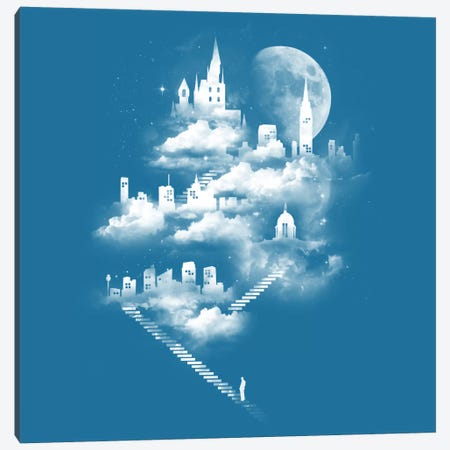 Stairway To Heaven Canvas Print #TFA21} by Tobias Fonseca Canvas Art