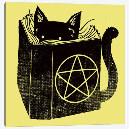 Satanicat Canvas Print #TFA226} by Tobias Fonseca Canvas Artwork