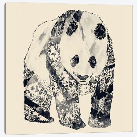 Tattooed Panda Canvas Print #TFA22} by Tobias Fonseca Canvas Art