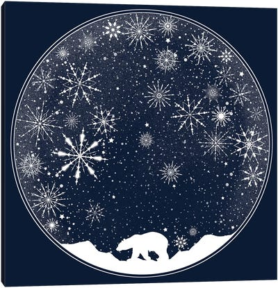 Snow Globe Canvas Art Print