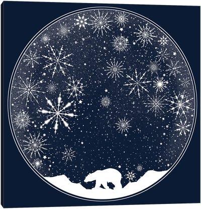 Snow Globe Canvas Print #TFA231