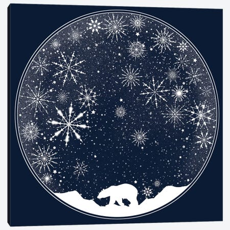 Snow Globe Canvas Print #TFA231} by Tobias Fonseca Canvas Wall Art