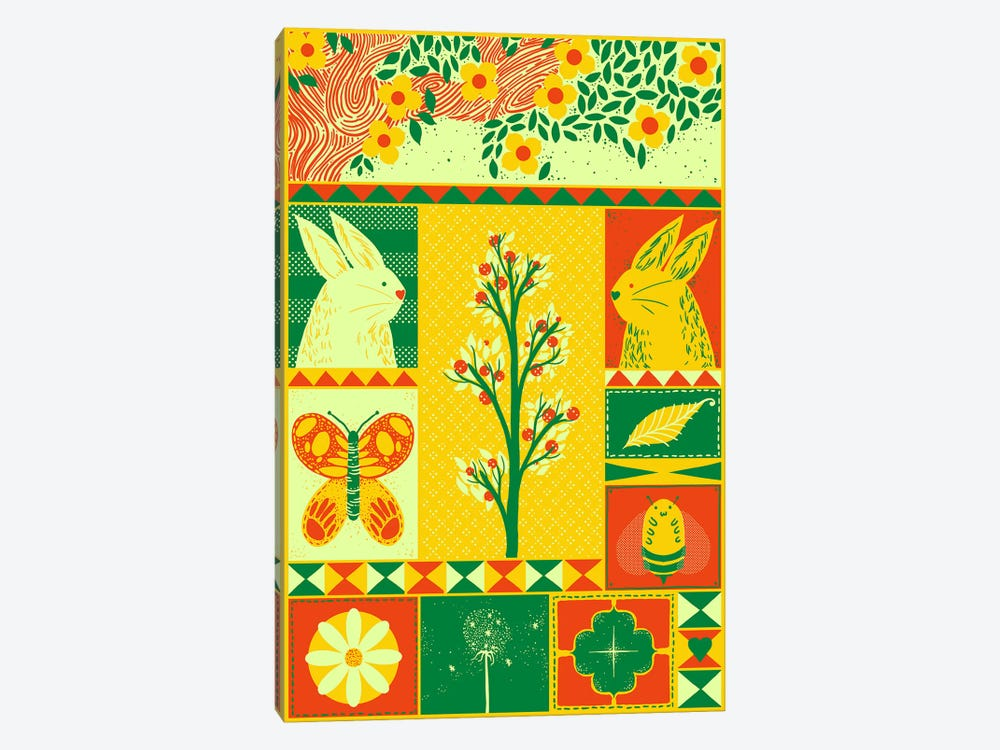 Spring Rectangle by Tobias Fonseca 1-piece Canvas Art