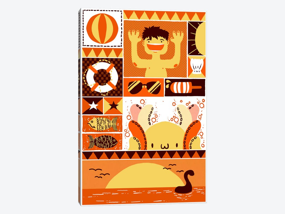 Summer Rectangle by Tobias Fonseca 1-piece Art Print