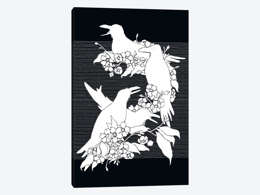 The Black Crows by Tobias Fonseca 1-piece Canvas Print